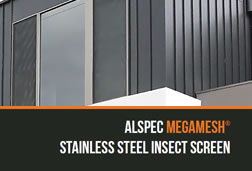 Megamesh - Stainless Steel Insect Screen
