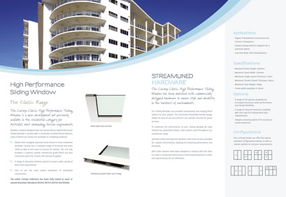 High performance aluminium sliding windows for High performance windows