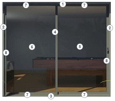 Sliding Door Sliding Doors Components