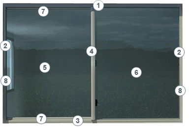 Carinya Sliding Window